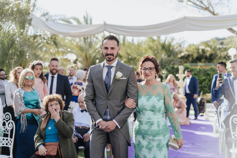 Boda Tatiana & Antonio en jardines del Trapiche, Vélez Málaga, Málaga